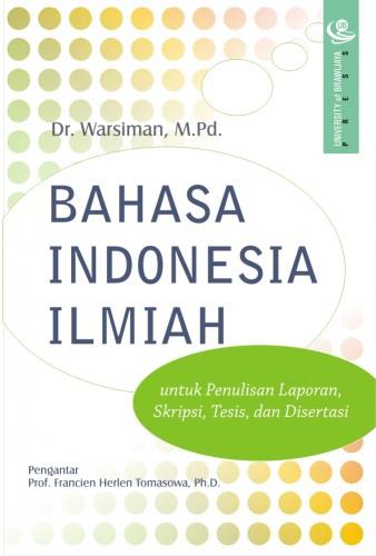 Bahasa Indonesia Ilmiah