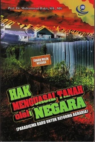 Hak Menguasai Tanah oleh Negara