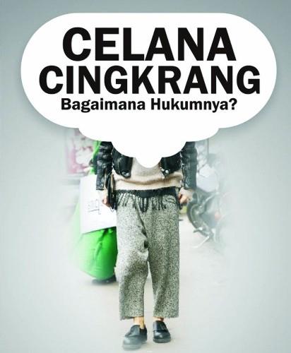 cover-Celana Cingkrang