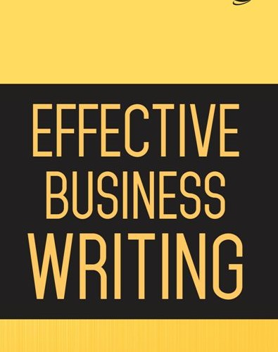 Cover Effective Business Writing